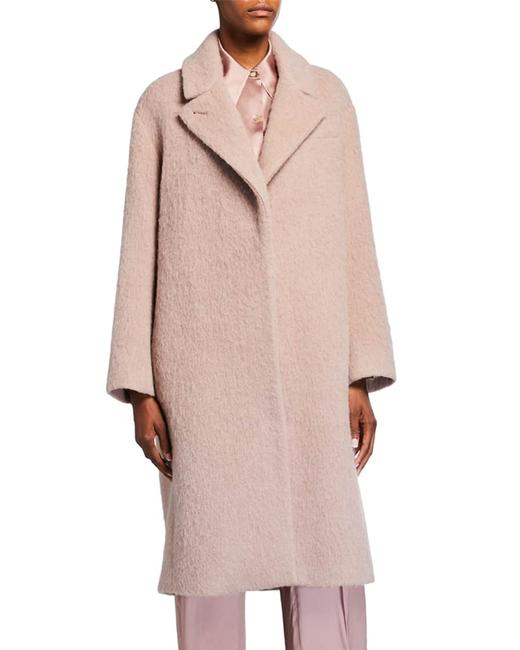 Item - Pink Button Oversize Textured Coat Size 6 (S)