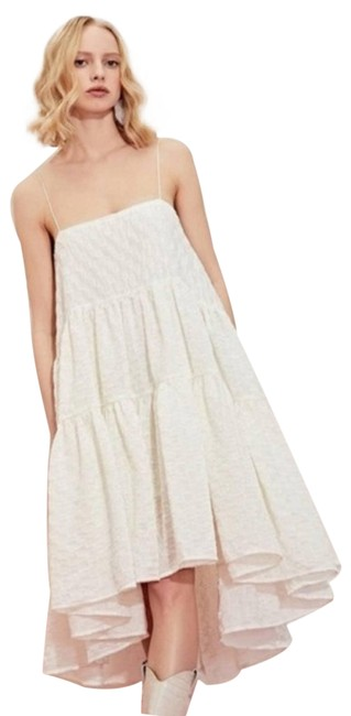 Item - White Dream West Country Ivory Short Casual Dress Size 16 (XL, Plus 0x)