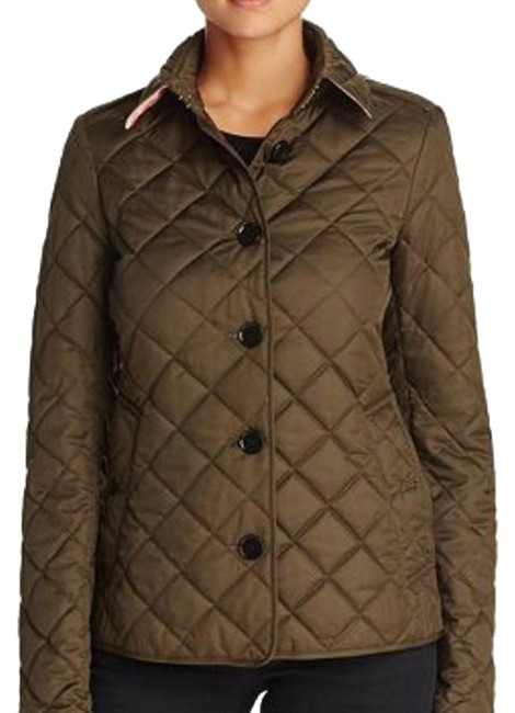 Item - Khaki Copford Quilted Jacket Size 4 (S)