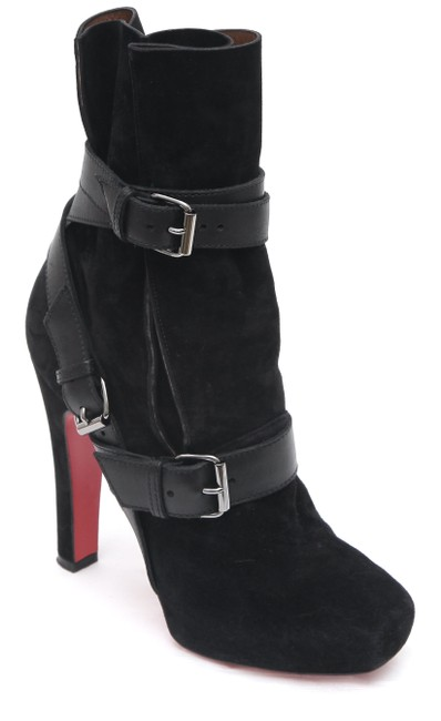 Item - Black Suede Leather Guerriere 120 Ankle Boots/Booties Size EU 38.5 (Approx. US 8.5) Regular (M, B)