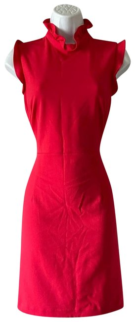 Item - Red New Short Casual Dress Size 2 (XS)