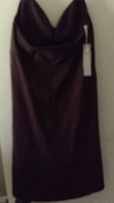 Windsor short dress brown Halter Style With Beaded Bodice on Tradesy