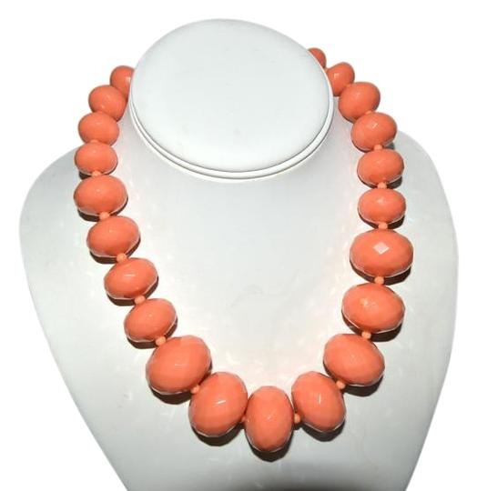 Preload https://item3.tradesy.com/images/rj-graziano-r-j-graziano-resin-bead-necklace-coral-color-18-2973142-0-2.jpg?width=440&height=440