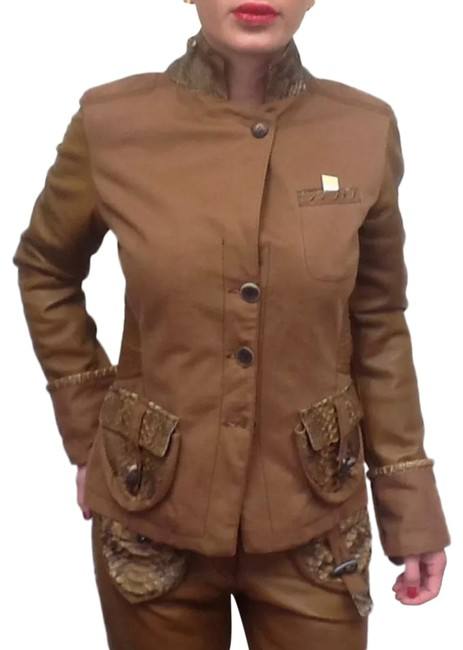 Item - Brown & Jacket You'll Look Great In This Pant Suit Size 8 (M)