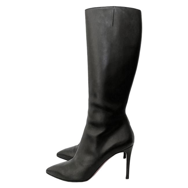Item - Black So Kate 100 Leather Tall Boots/Booties Size US 10 Regular (M, B)