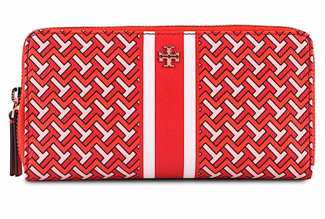 Item - Red New with Tag T Zag Zip Continental Wallet