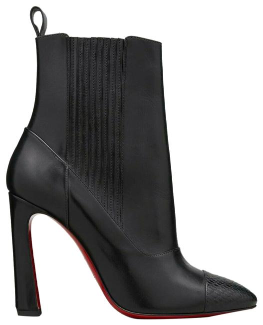 Item - Black Me In The 90s Red Sole Boots/Booties Size US 8.5 Regular (M, B)