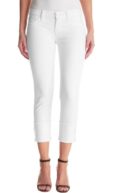 Item - White Light Wash Muse Crop Skinny Jeans Size 8 (M, 29, 30)