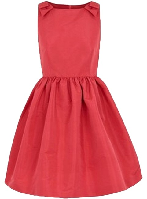 Preload https://img-static.tradesy.com/item/2974384/red-valentino-pink-dark-bow-embellished-crepe-mid-length-cocktail-dress-size-2-xs-0-0-650-650.jpg