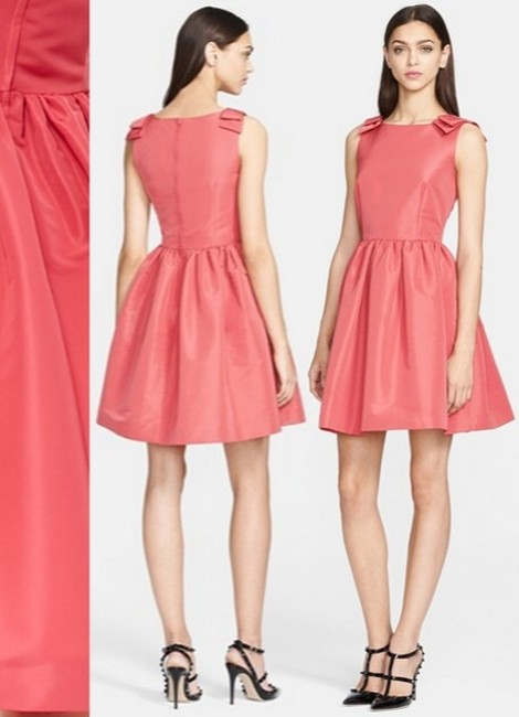 RED Valentino Signature Bow Night Out Dress