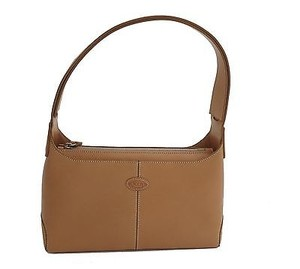 Tod's Cameltan Shoulder Bag
