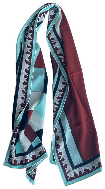 Item - Red and Blue Scarf/Wrap