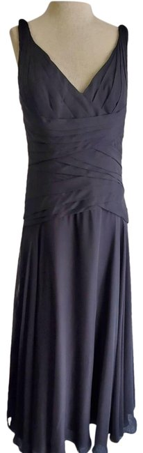Item - Black Gown Long Night Out Dress Size 12 (L)