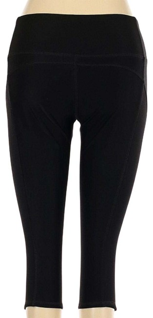 Item - Black Fitness Athletic Spandex Cropped Women Small Activewear Bottoms Size 4 (S, 27)