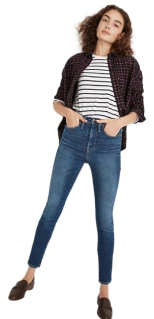 """Item - Blue New 10"""" High-rise Winston Wash Skinny Jeans Size 26 (2, XS)"""