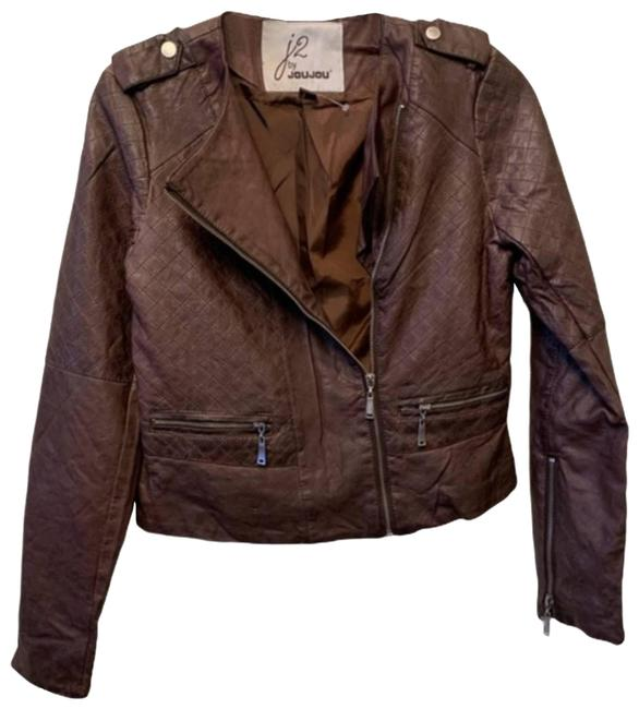 Item - Brown Small Nwot J2 By Faux Moto Jacket Size 4 (S)