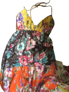 multicoloured Maxi Dress by NAF NAF