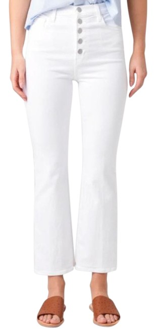 Item - White Lillie High Rise Crop In Flare Leg Jeans Size 31 (6, M)