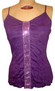 Romeo & Juliet Couture Top Purple with Sequins