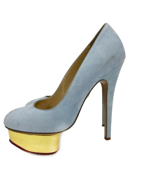 Item - Light Blue Dolly Suede - 36.5 - Pumps Size US 4.5 Narrow (Aa, N)