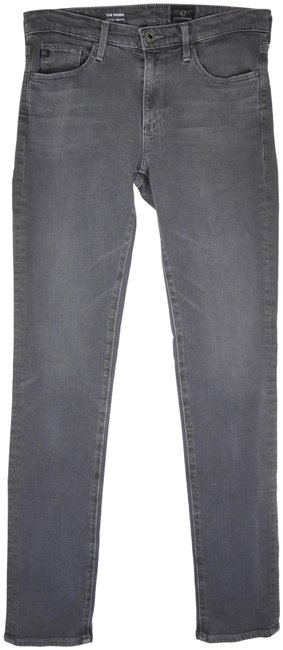 Item - Grey The Prima - Mid Rise Cigarette Skinny Jeans Size 26 (2, XS)