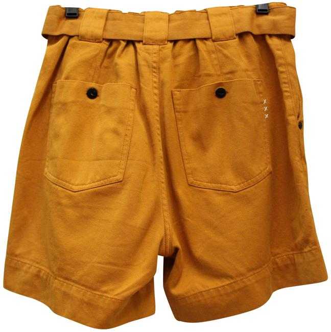 Item - Rust Brown Anthropologie Belted Elastic Back 28 Shorts Size 6 (S, 28)