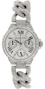 Michael Kors Michael Kors Mini Camille Silver Glitz Quartz Watch