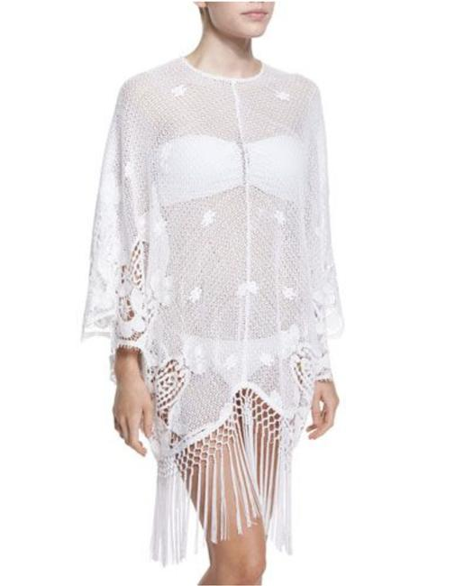Item - White Vonna Lace Caftan Cover-up/Sarong Size 10 (M)