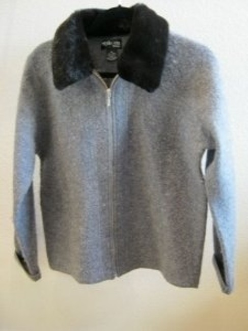 Preload https://img-static.tradesy.com/item/29762/style-and-co-grey-wool-with-removable-fur-collar-size-petite-8-m-0-0-650-650.jpg