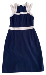 Banana Republic short dress Navy/white Preppy on Tradesy