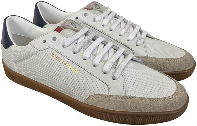Item - White Sl/10 Court Classic Distressed Leather Low Sneakers Size EU 37.5 (Approx. US 7.5) Regular (M, B)