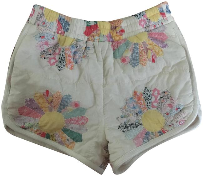 Item - Multicolor Quilted Patchwork Shorts Size 2 (XS, 26)
