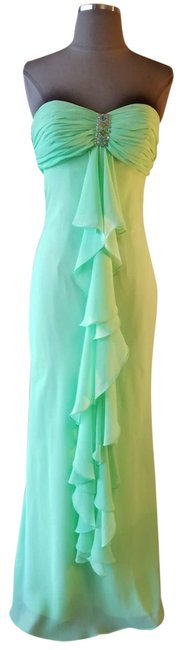 Item - Green Dress/Gown Sparkle Lime 4-new Formal Dress Size 4 (S)
