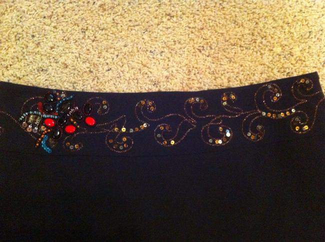 Cache Sits On Hip Sequined Mini Skirt black
