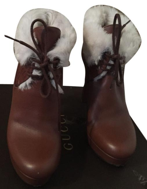 Gucci Brown Boots/Booties Size EU 38 (Approx. US 8) Gucci Brown Boots/Booties Size EU 38 (Approx. US 8) Image 1