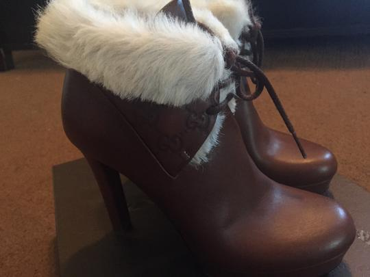 Gucci Brown Boots