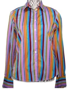 Robert Graham Cotton Shirt Button Down Shirt