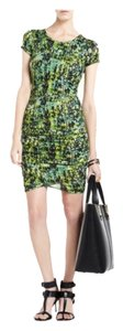BCBGMAXAZRIA short dress Green multicolor Bcbg on Tradesy