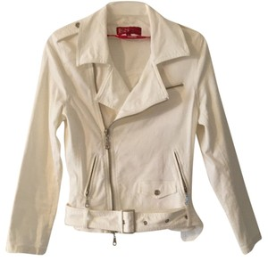 Etam Casual Sports White Jacket