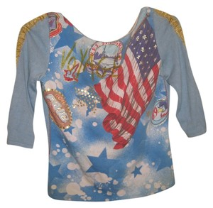 Other Independence Day American Flag American 4th Of July American Flag T Shirt Blue