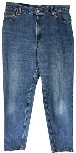 Item - Blue Medium Wash Vintage 550 Tapered Relaxed Fit Jeans Size 14