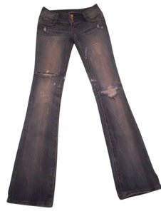 Almost Famous Boot Cut Jeans-Medium Wash