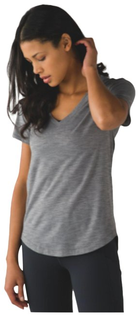 Item - Gray Heathered Activewear Top Size 4 (S)