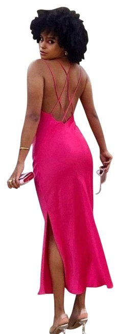 Item - Satin Lingerie Style Mid-length Night Out Dress Size 6 (S)
