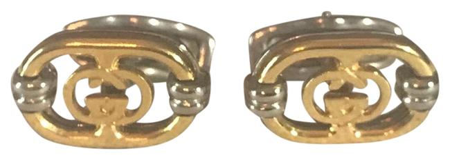 Item - Gold and Silver Cufflinks