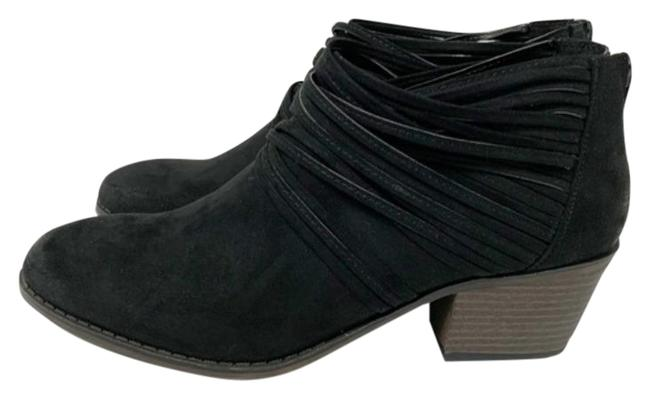 Item - Black Women's Faux Suede Barley Boots/Booties Size US 10 Regular (M, B)