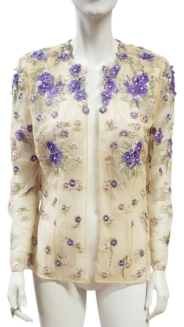 Preload https://item2.tradesy.com/images/beige-lilac-couture-open-front-floral-embroidery-rare-small-4-spring-jacket-size-6-s-2978236-0-0.jpg?width=400&height=650