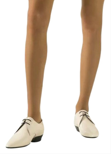 Item - Ivory Ysl Jonas Women Patent Leather Derby Loafers Formal Shoes Size EU 42 (Approx. US 12) Regular (M, B)