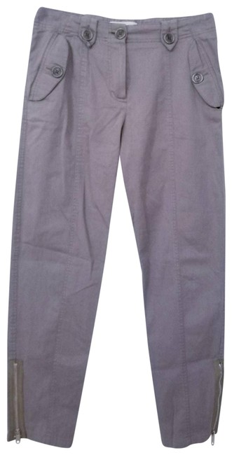 Item - Gray Taupe High Rise Ankle Zip Pants Size 6 (S, 28)