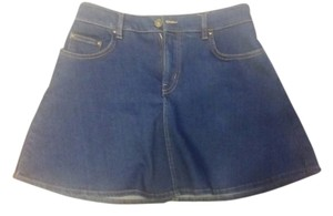 Zara Mini Skirt Blue Denim